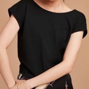 NWT Aritzia Adela T Shirt in Black